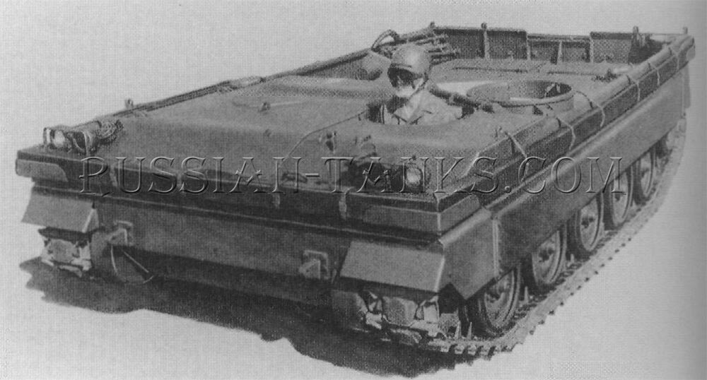 The self-propelled gun chassis T249