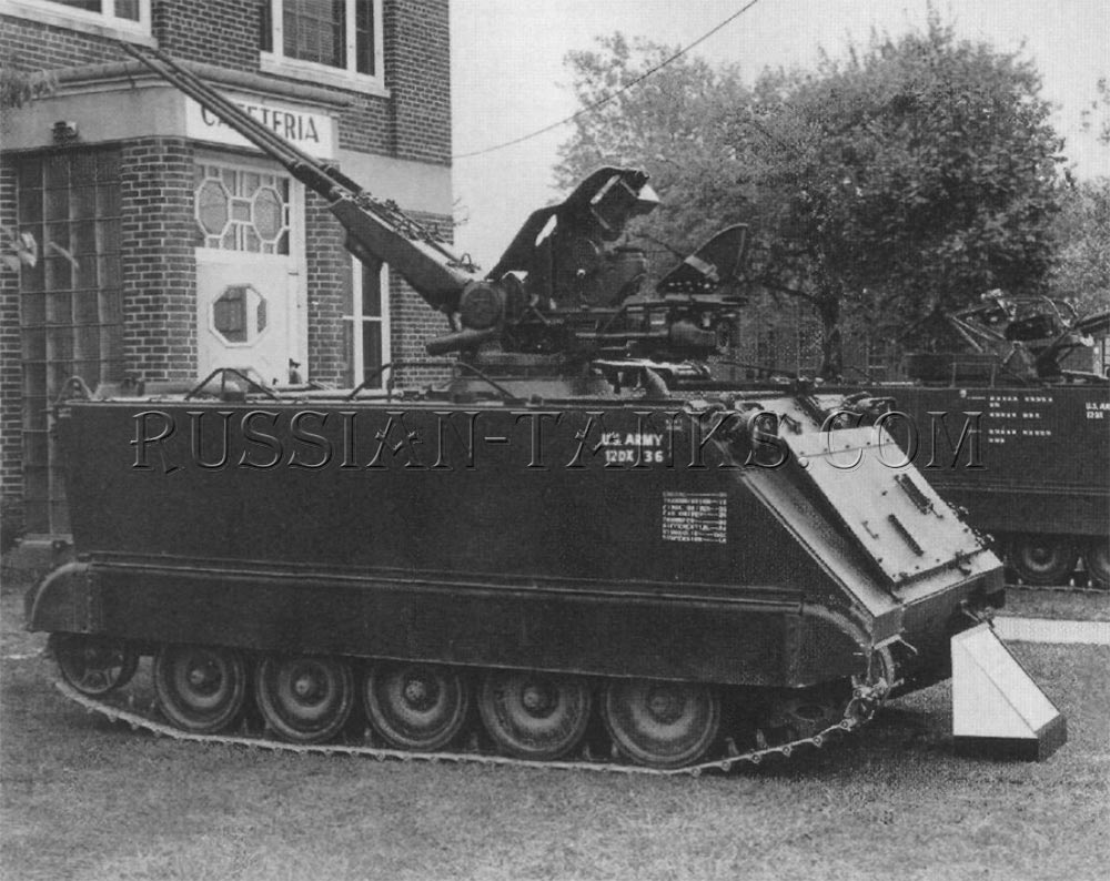 Hispano Suiza 20mm guns on the M113A1