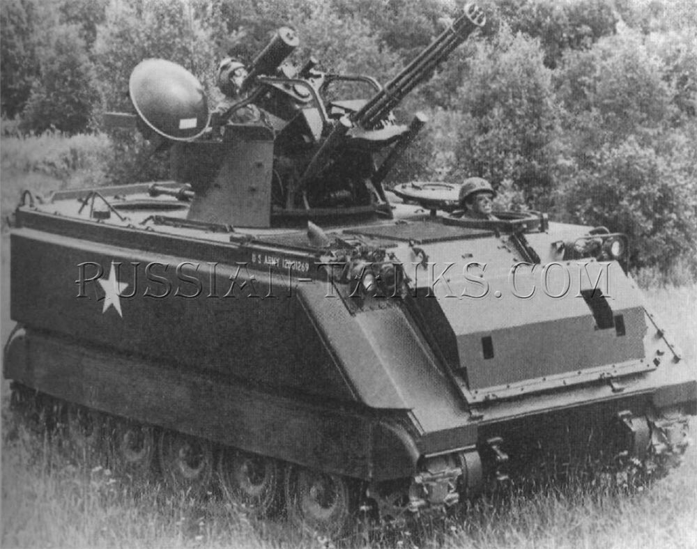 The M163A1 Vulcan air defense system