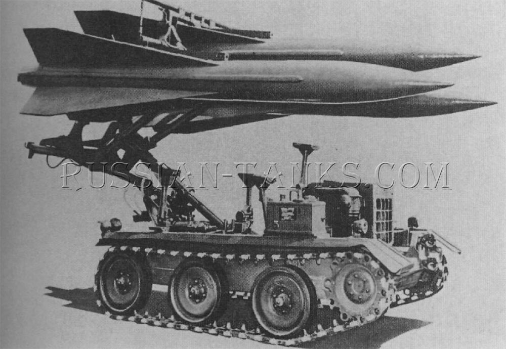 The Hawk loader-transporter M501