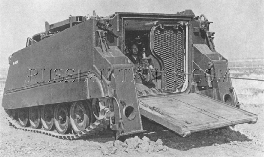 the XM806E1 recovery vehicle