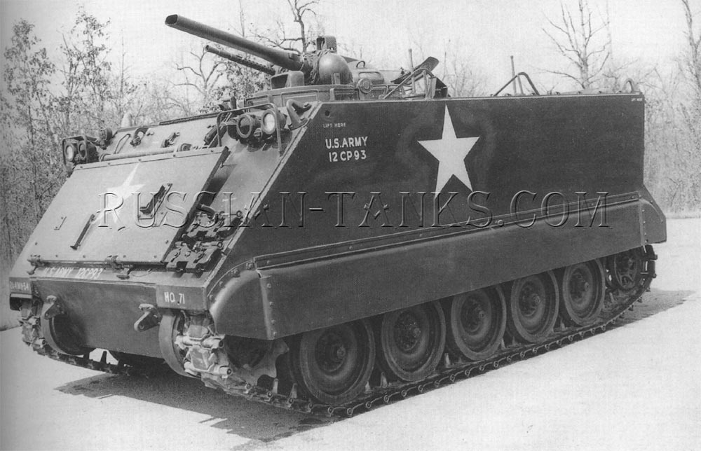 The self-propelled flame thrower M132