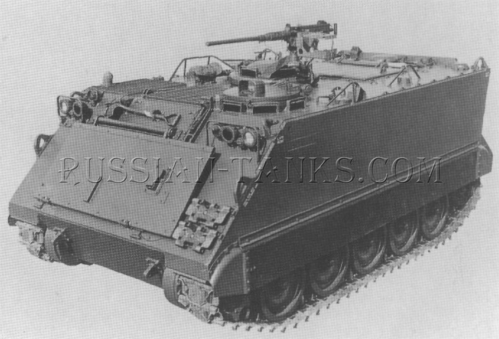 The armored personnel carrier M113E2