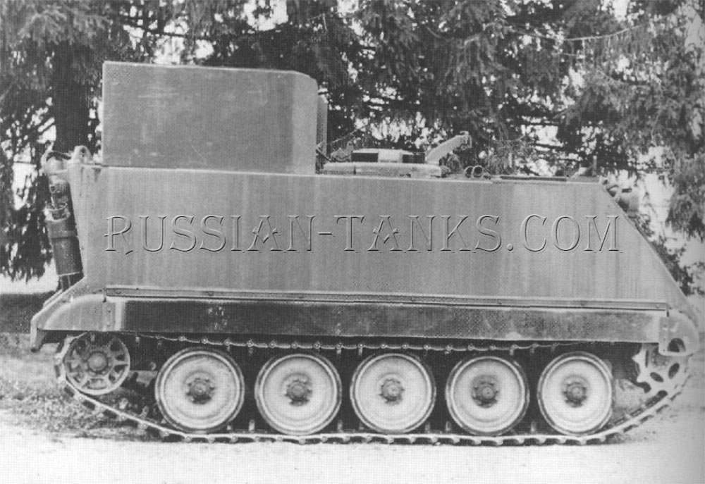 The M1059 smoke generator carrier