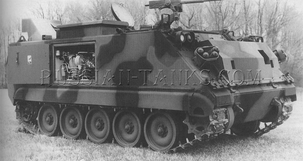 The smoke generator carrier M58
