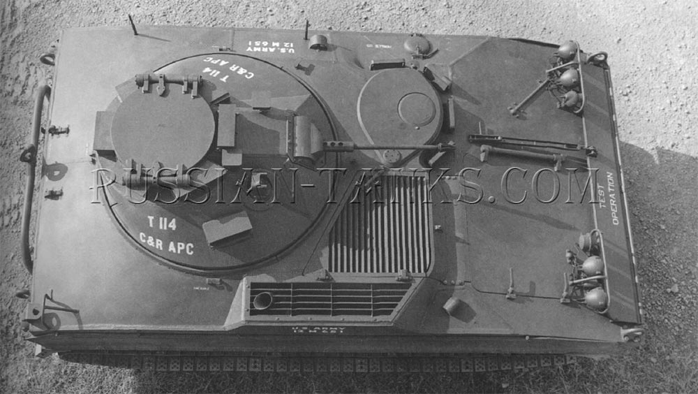 T114 command and reconnaissance vehicle pilot number 3