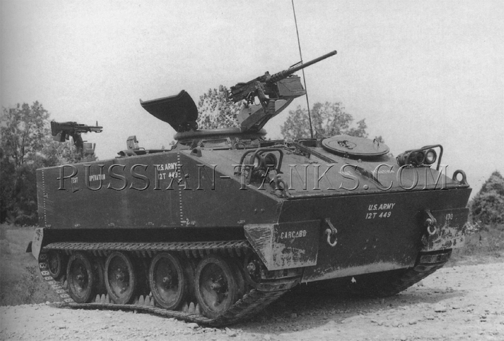 The command and reconnaissance vehicle M114