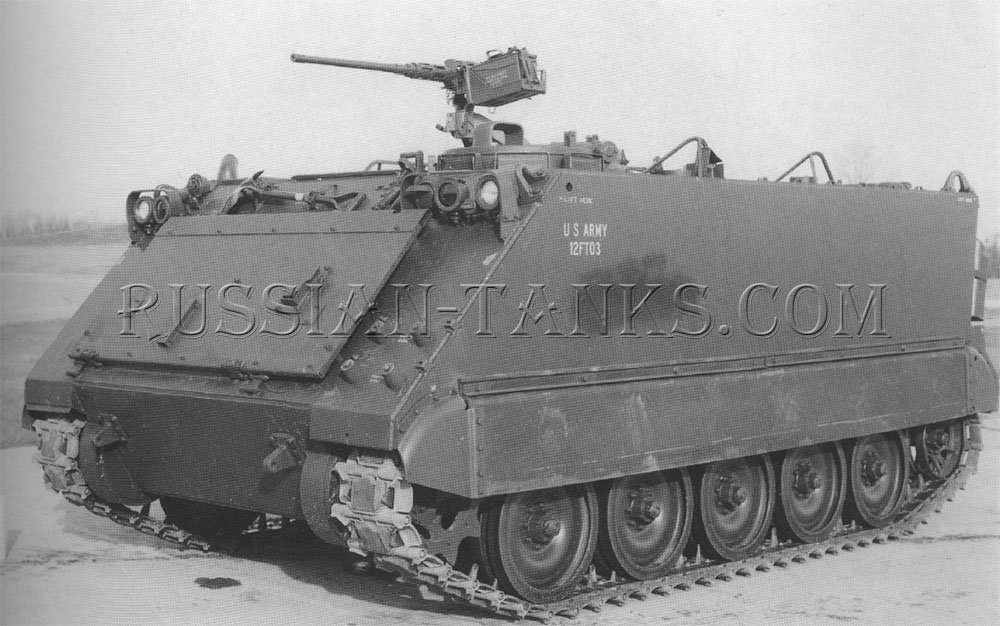 The armored personnel carrier M113A1