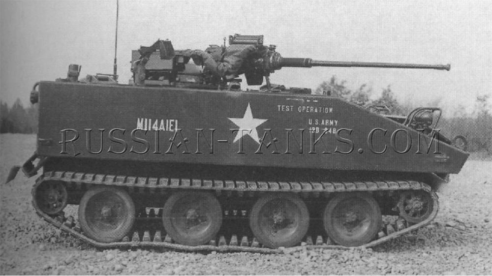 The command and reconnaissance vehicle M114A1E1