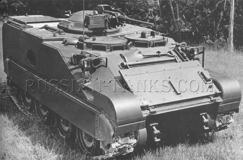 The FMC command and reconnaissance vehicle