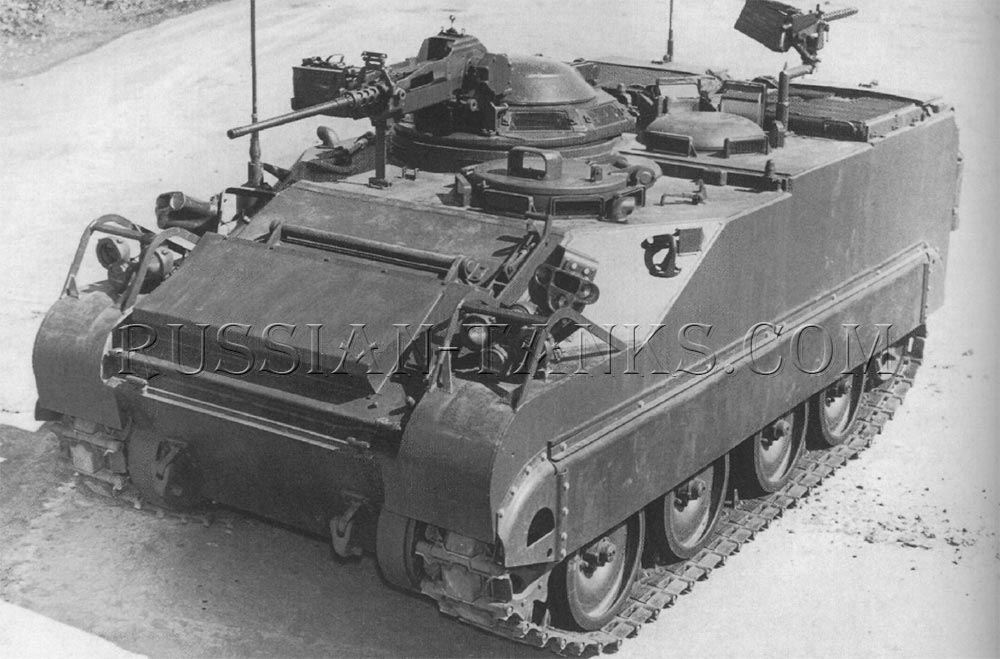 The FMC command and reconnaissance vehicle Lynx