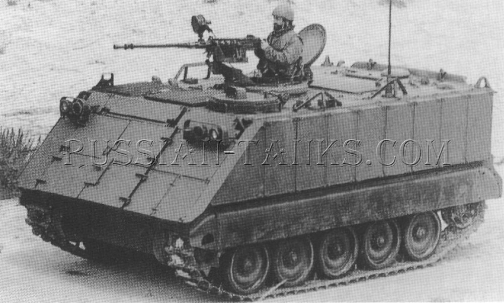 The armored personnel carrier M113A3