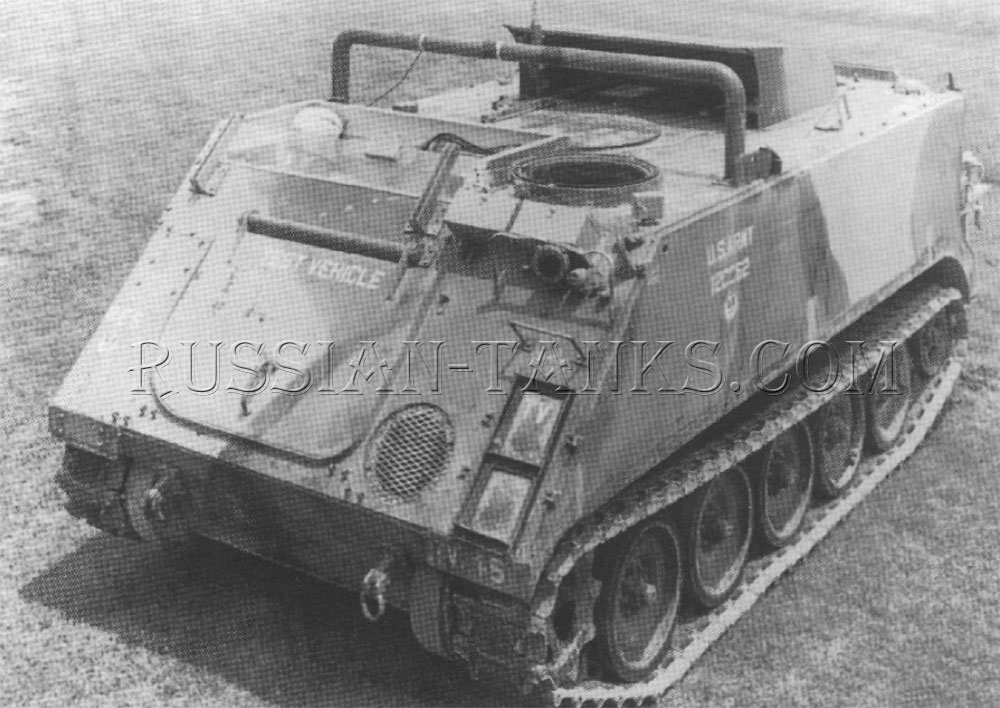The M113 referred to as the Hot Rod