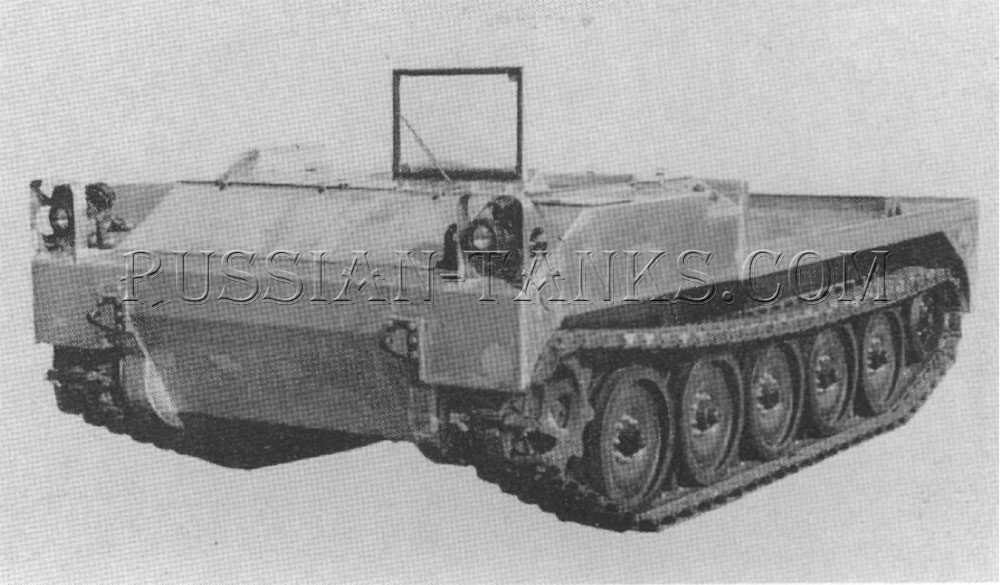 The missile equipment carrier XM474