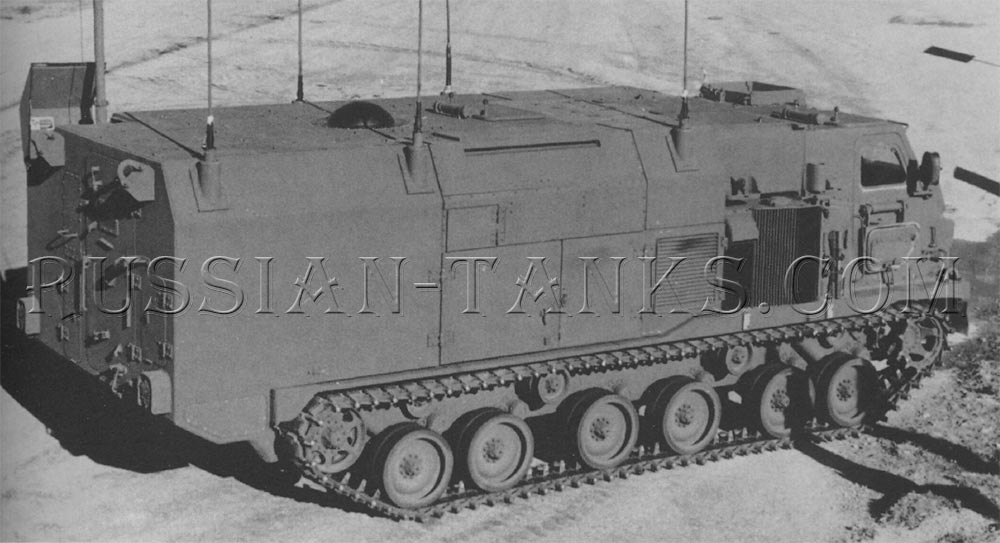 The XM4 command and control vehicle