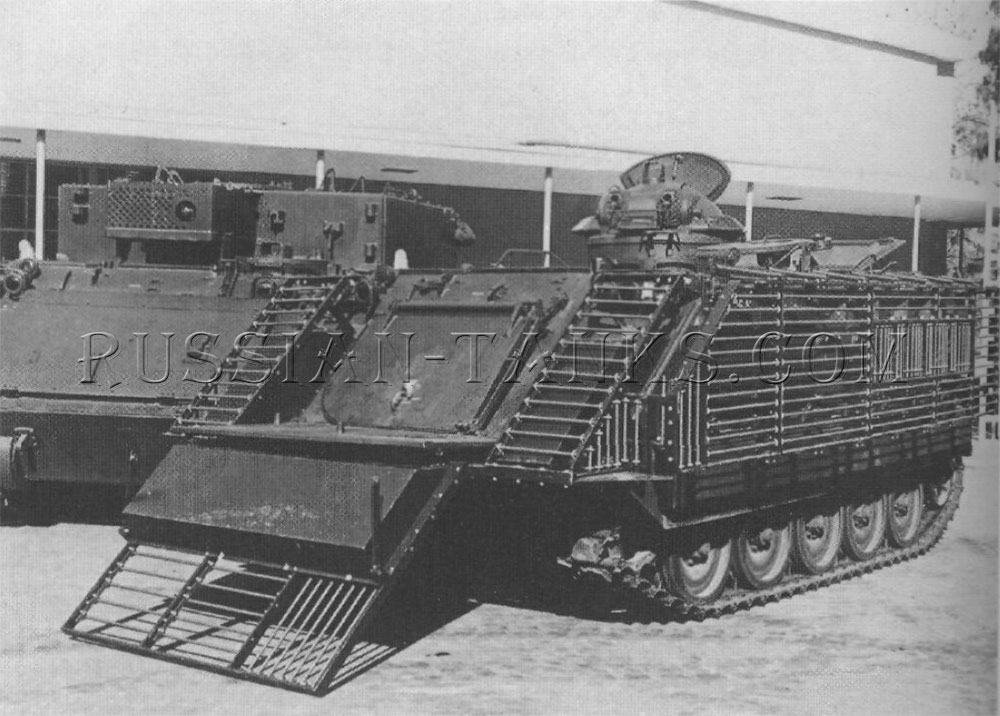 The infantry fighting swimming vehicle converted from the M113