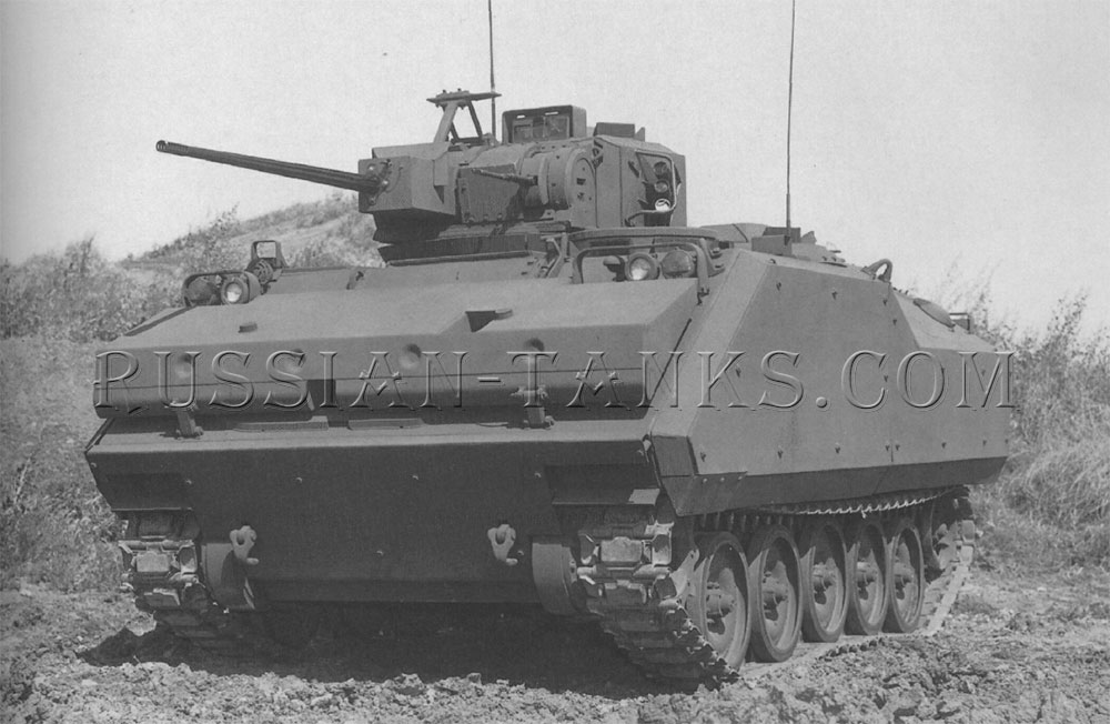 The FMC armored infantry fighting vehicle (AIFV)