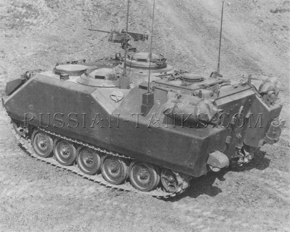 The M113A1 armored personnel carrier