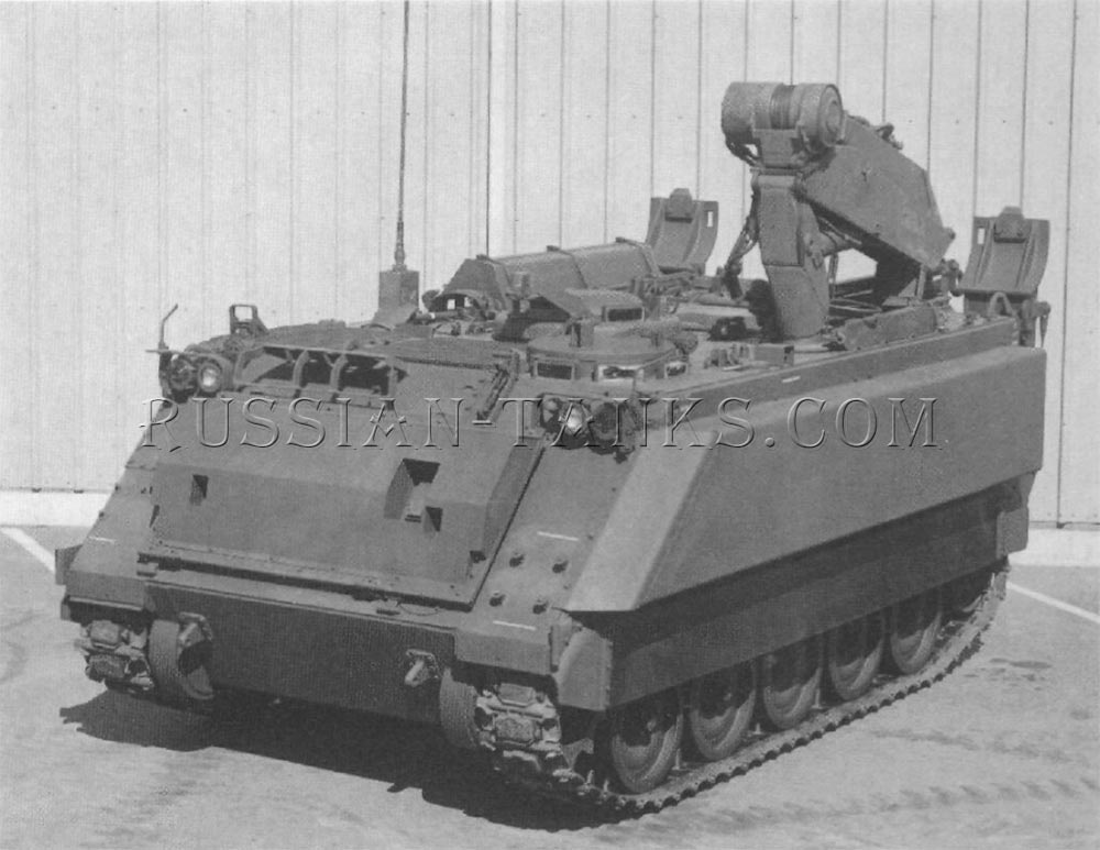 The FMC armored infantry fighting vehicle