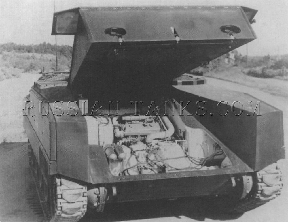 The XM701 mechanized infantry combat vehicle