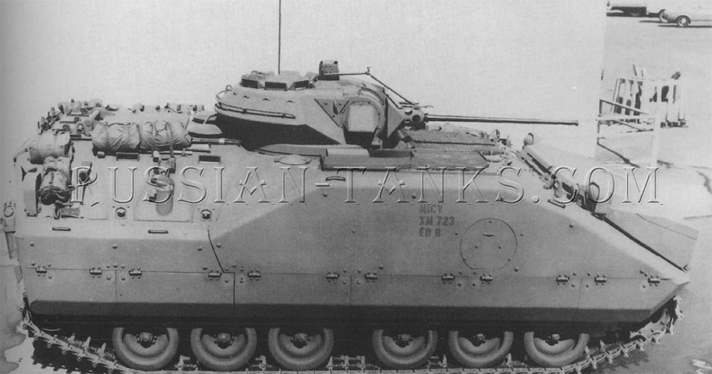 The XM723 mechanized infantry combat vehicle
