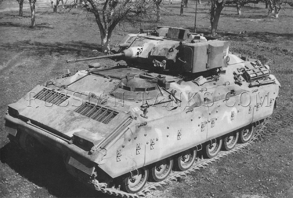 The XM2 infantry fighting vehicle