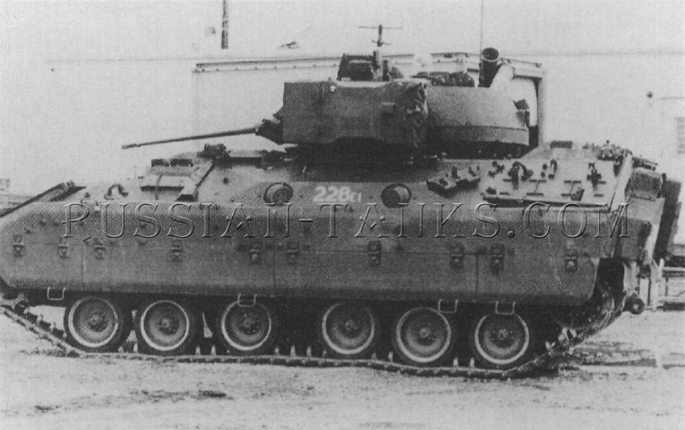 The M3E1 cavalry fighting vehicle