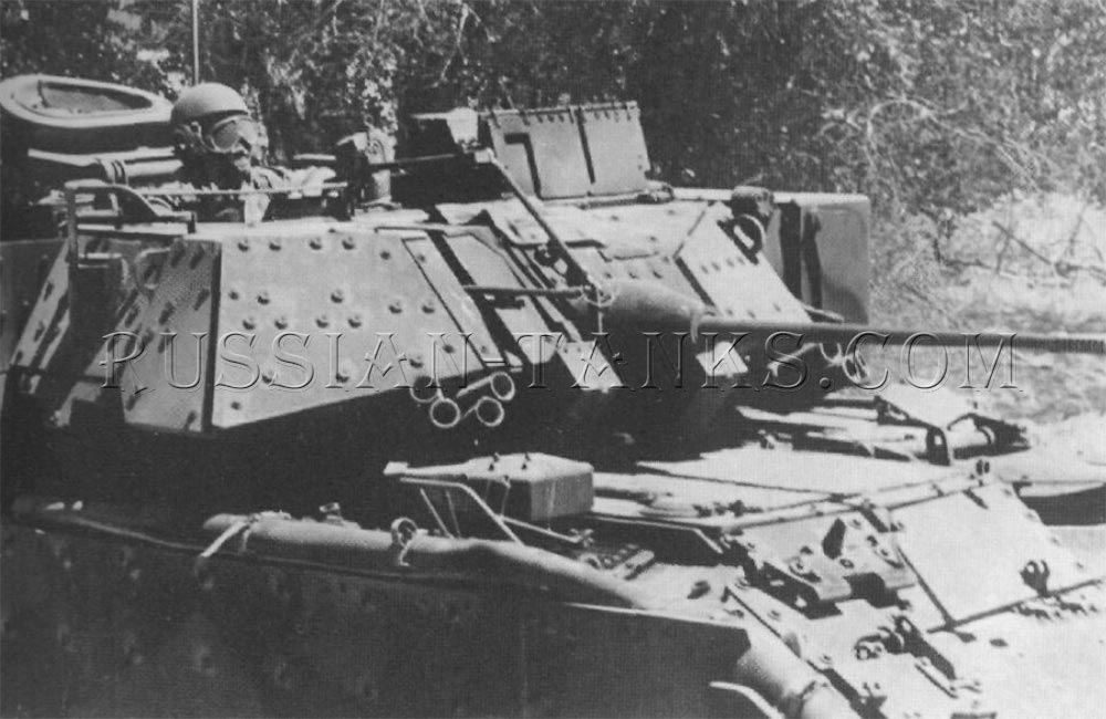 The Bradley A2 turret
