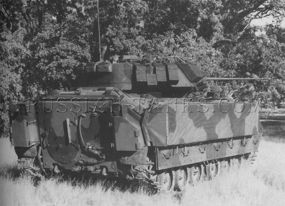 The M3A2 cavalry fighting vehicle