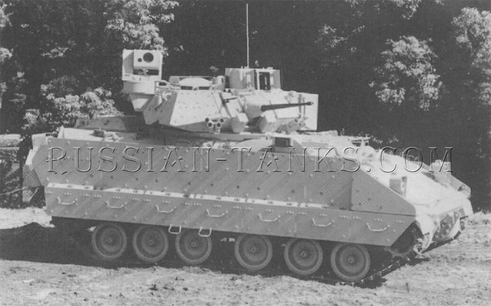 The M2A3 infantry fighting vehicle