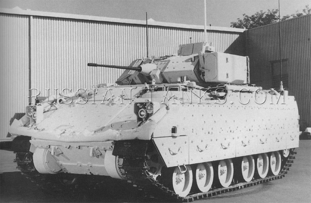 The Bradley battle command vehicle