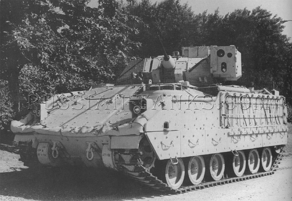 The XM7 Bradley fire support team vehicle (FIST-V)
