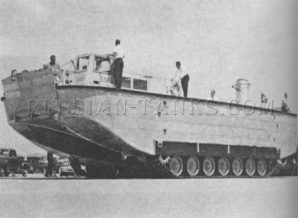 The assault landing craft LCAX1