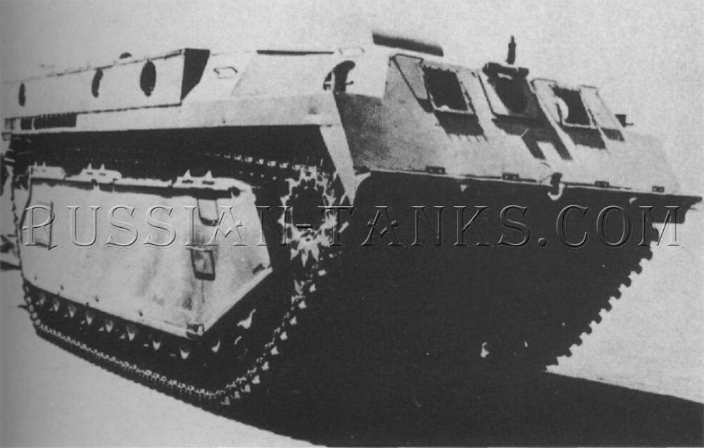 The double track vehicle LVT3