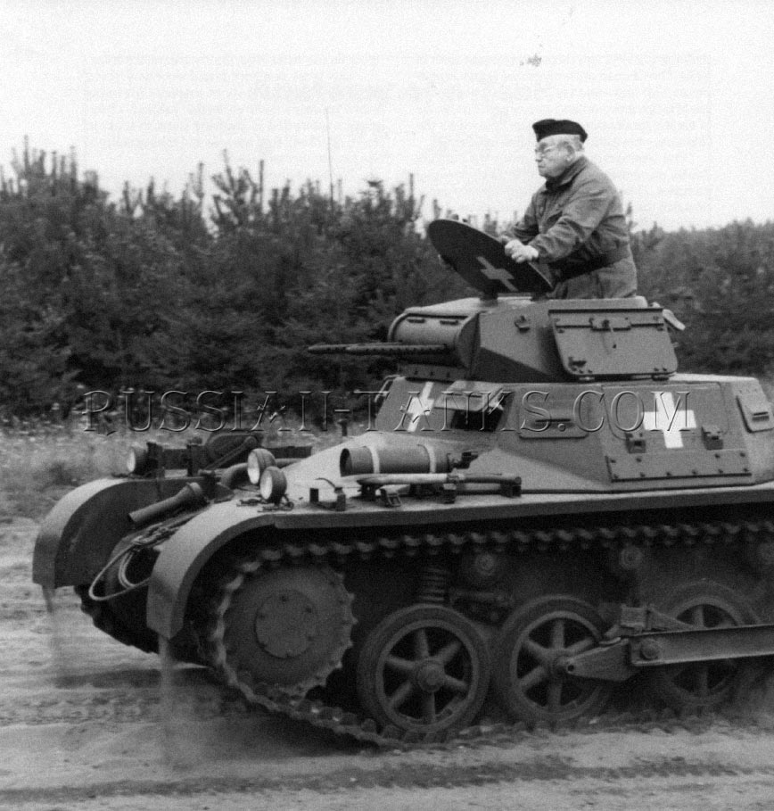 panzer 1 ausf panzer 1 german army light tank russian tanks of world war 2. Black Bedroom Furniture Sets. Home Design Ideas