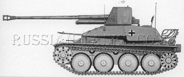 German Marder III Tank destroyer