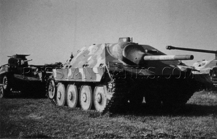 Hetzer self-propelled (Hunting Dog)