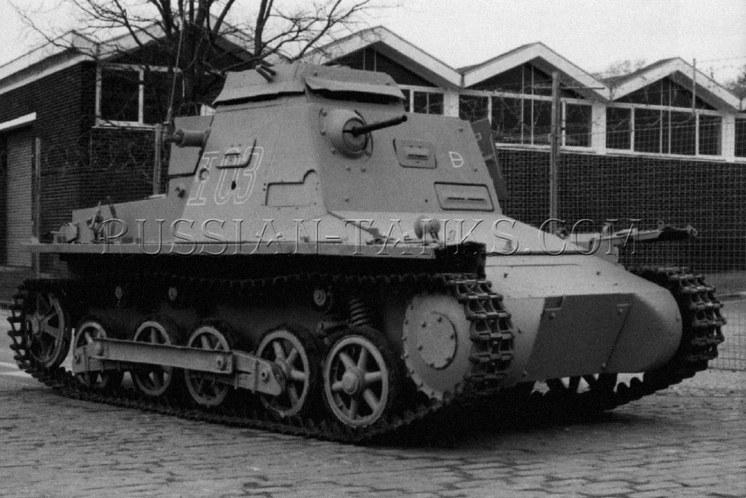 German Tank Panzer I