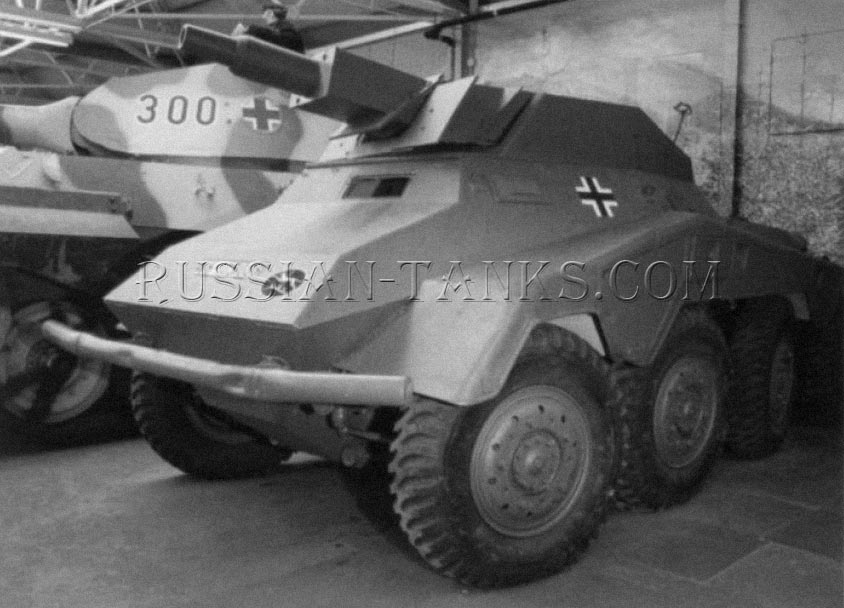 German military Sd.Kfz 233