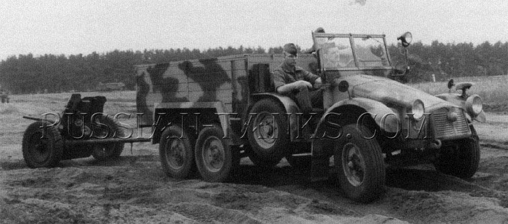 German military Kruppdesigned light truck Boxer
