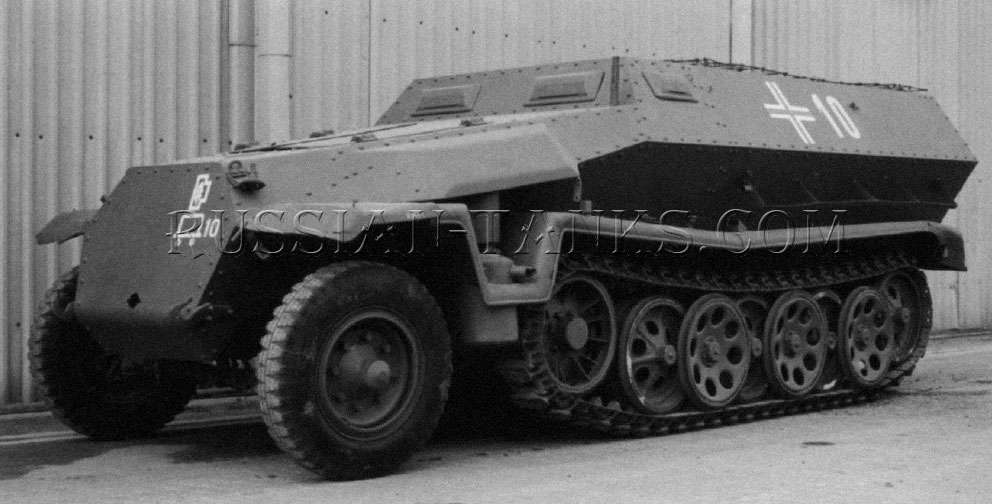 German half-track Sd.Kfz 251 Ausf С