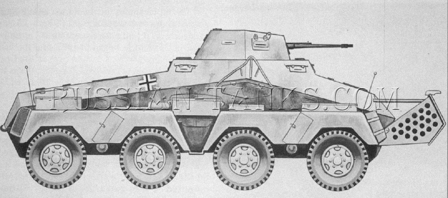 German military Sd.Kfz 231