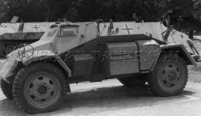 German military standard Sd.Kfz 221 armored car